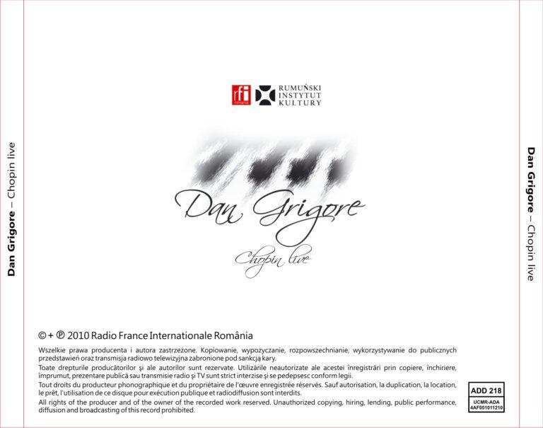 CD Dan Grigore 2010
